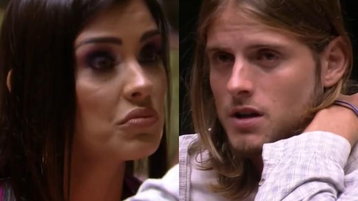 Ivy e Daniel no reality show BBB20