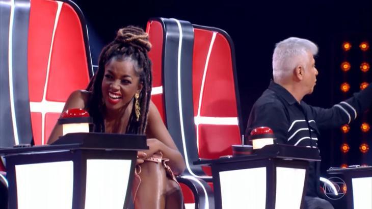 Lulu Santos perdeu candidato para Iza e a provocou - Foto: Reprodução/Globo