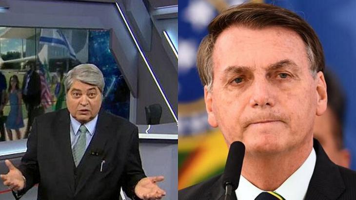 Datena criticou Bolsonaro - Foto: Montagem