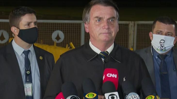 Jair Bolsonaro no Palácio da Alvorada - Foto: Reprodução/Globoplay