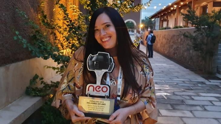 Jal Guerreiro, do Prime Box Brazil, recebe prêmio na Argentina - Divulgação