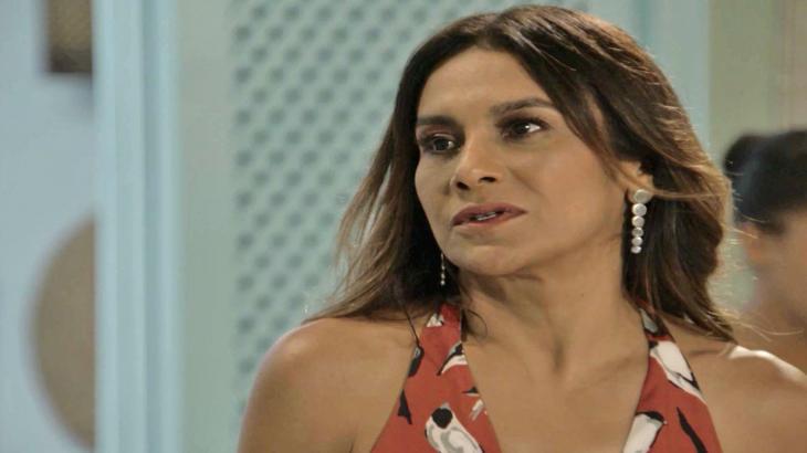 Janaina coloca Jerônimo contra a parede - Divulgação/TV Globo