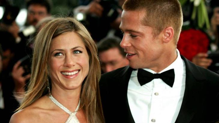 Jennifer Aniston e Brad Pitt - Foto: Reprodução