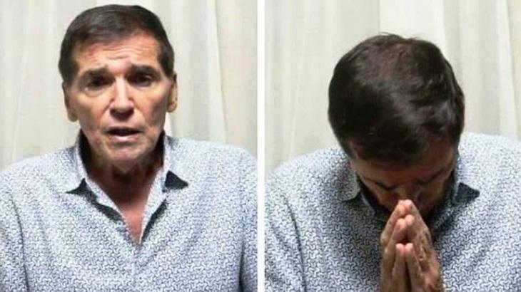 Com câncer, Jerry Adriani tem melhora após receber mensagens de Roberto e Erasmo Carlos