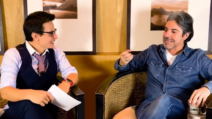 Fabrizio Gueratto entrevista João Kléber: ele já foi mais consumista - Reprodução/YouTube