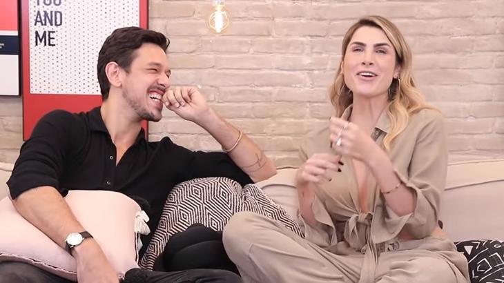 João Vicente de Castro em entrevista a Julia Faria - Reprodução/Instagram