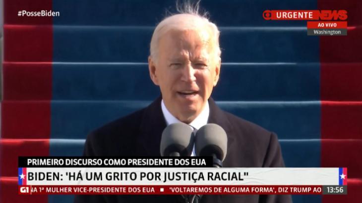 Posse de Biden faz GloboNews bater recorde na TV Paga