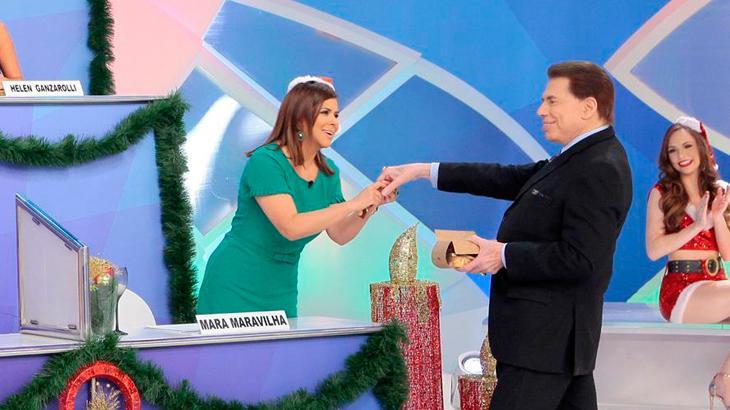 Silvio Santos está redescobrindo Mara Maravilha no SBT