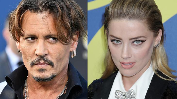 Johnny Depp e sua ex-namorada - Foto: Montagem