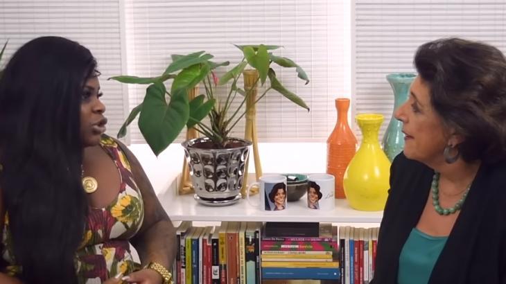 Leda Negla entrevistou Jojo Todynho - Reprodução/YouTube