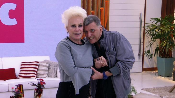 Ana Maria Braga se emociona com Jorge Fernando no