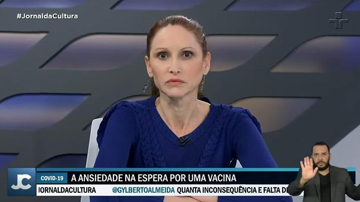 """Cientista se revolta ao vivo com reportagem da Cultura: """"Inoportuna"""""""