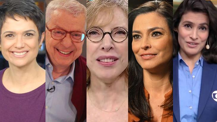 De Sandra Annenberg a Renato Machado: 5 jornalistas que já atuaram na TV