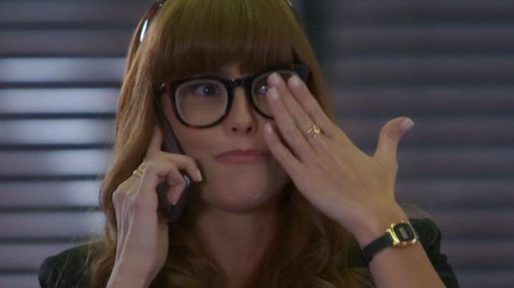 Alexia volta a ter alucinações em Salve-se Quem Puder - Reprodução/TV Globo