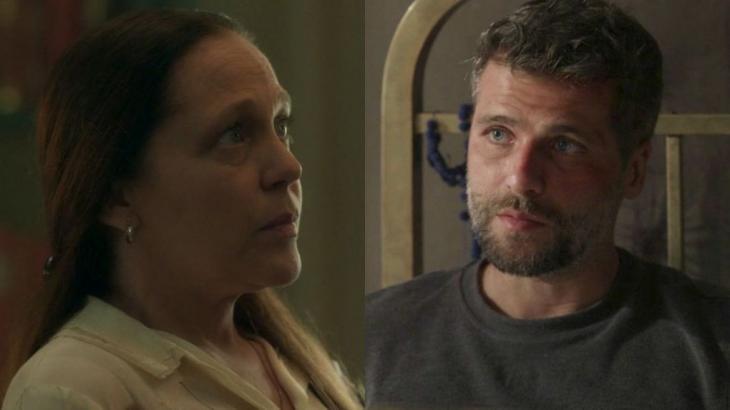 Judith e Gabriel se desentendem e ela quase acaba demitida - Divulgação/TV Globo