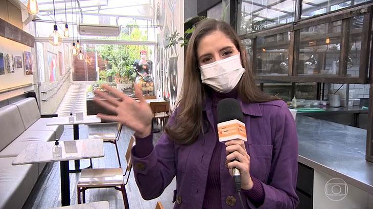 Repórter pede demissão da Globo e se despede no ar