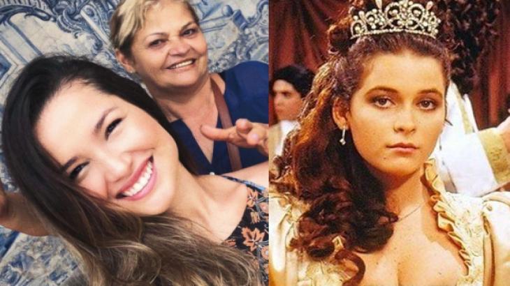 Juliette, Dona Fátima e Claudia Abreu