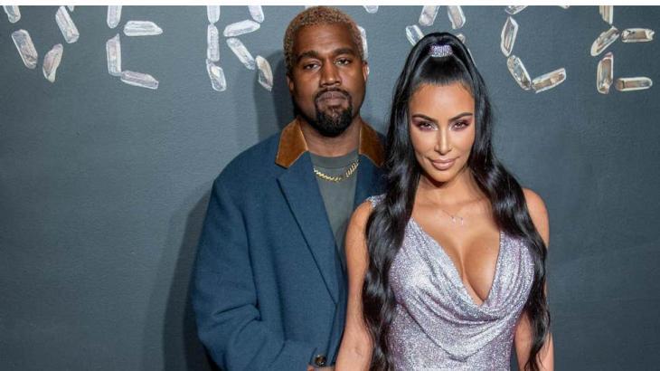 Kanye West e Kim Kardashian - Divulgação