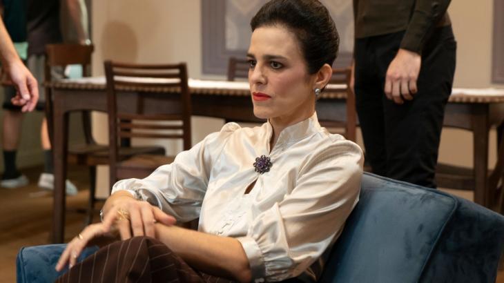 Karina Barum nos bastidores da série A3 - Divulgação