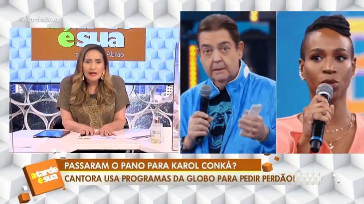 Sônia Abrão detona participações de Karol Conká em produções da Globo