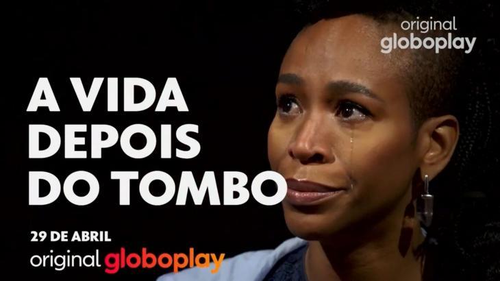 Karol Conká chora em material de divulgação da série A Vida Depois do Tombo, do Globoplay