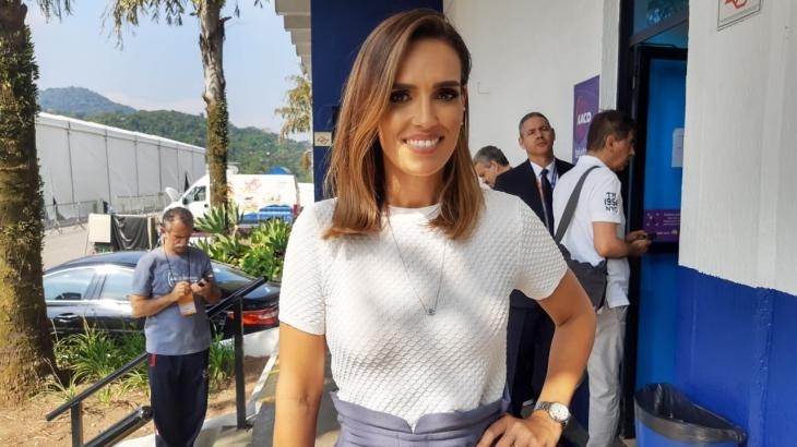 Karyn Bravo nos bastidores do Teleton 2019 - Foto: NaTelinha