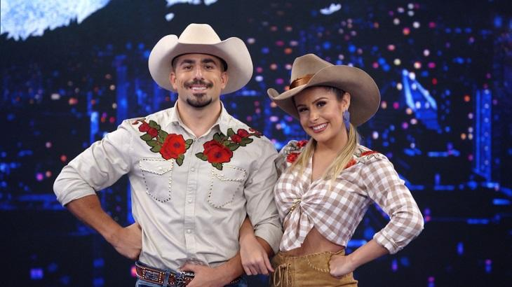 Kaysar lidera e mais dois passam para segunda fase da Dança dos Famosos