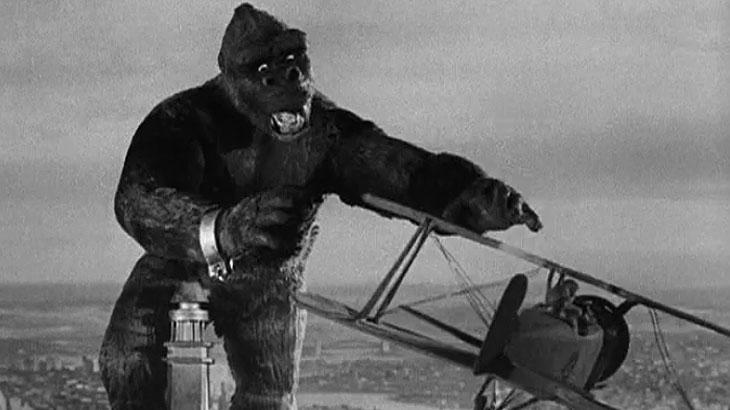 """""""King Kong"""": estamos falando da versão original. Lançada em 1933, o filme foi produzido através da técnica de Stop Motion, de Harry Redmond Jr., que renovou o cinema. Só por isso, já merecia mais atenção da Academia."""