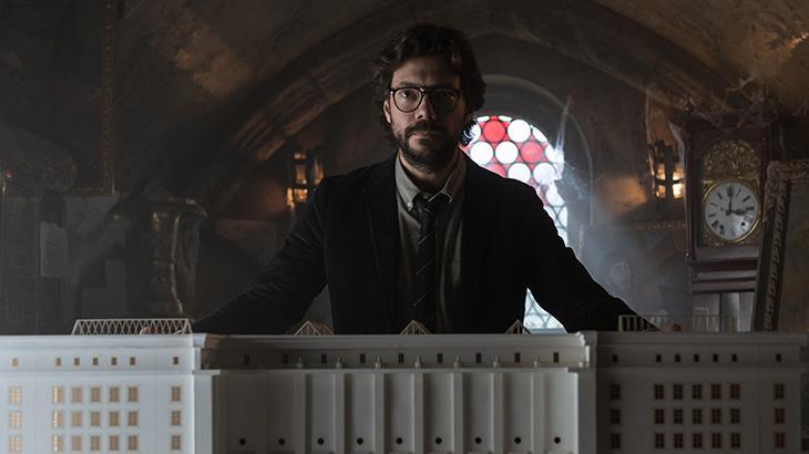 La Casa de Papel fisga público e é a produção mais vista da Netflix no fim de semana