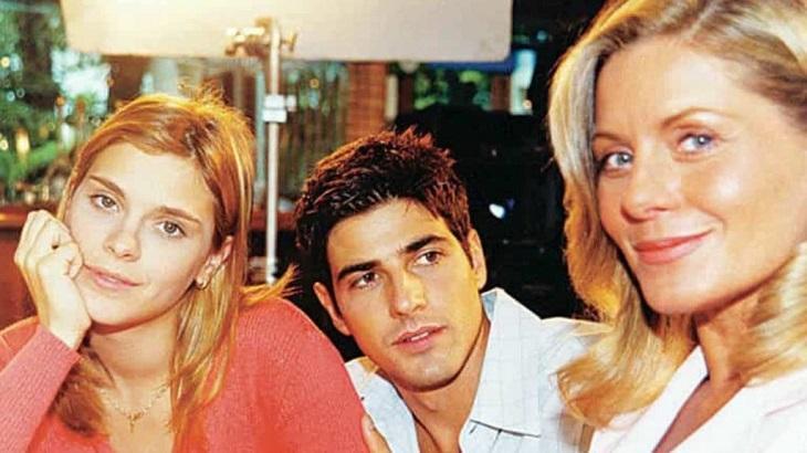 Carolina Dieckmann, Vera Fischer e Reynaldo Gianecchini em Laços de Família