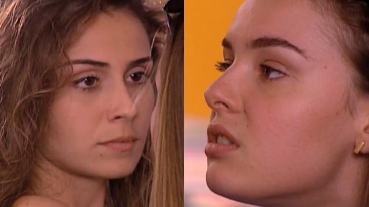 Giovanna Antonelli e Regiane Alves em cena da novela Laços de Família, em reprise na Globo