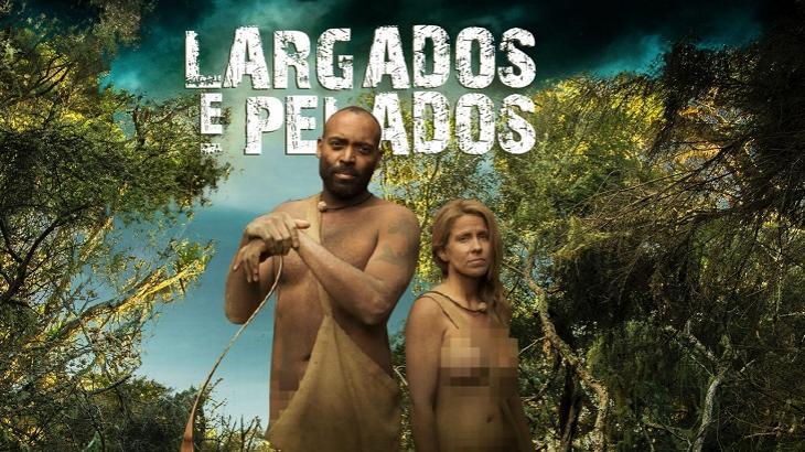 Logotipo de Largados e Pelados