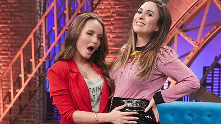 Larissa Manoela foi a gravar a quarta temporada do