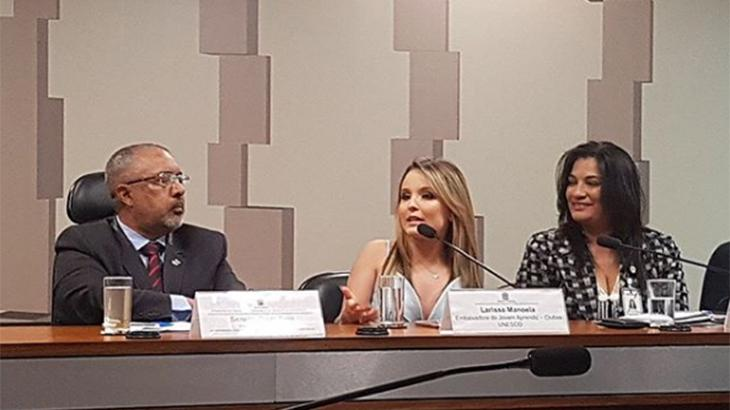 Aos 16 anos, Larissa Manoela vira embaixadora da Unesco