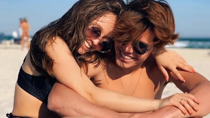 Larissa Manoela e Leo Cidade