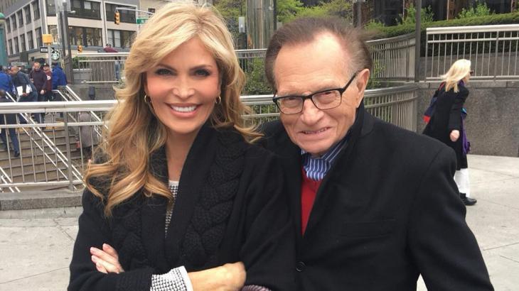Larry King e sua agora ex-esposa