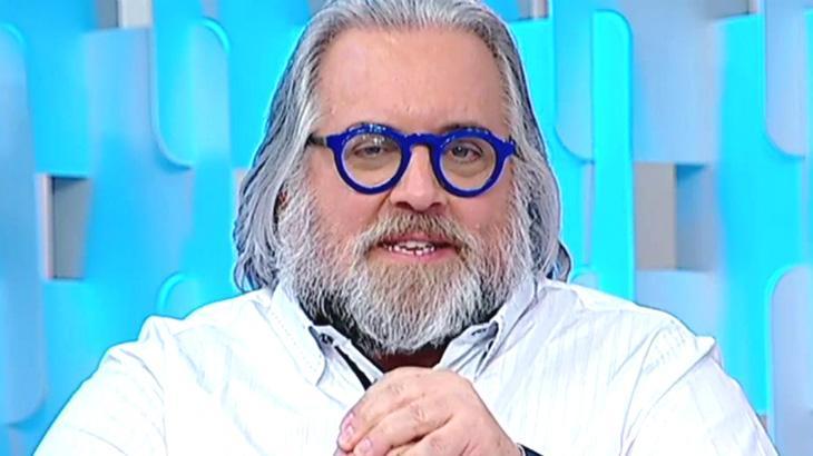 O jornalista Leão Lobo no Fofocalizando