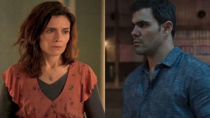 Arieta Corrêa e Juliano Cazarré em Amor de Mãe