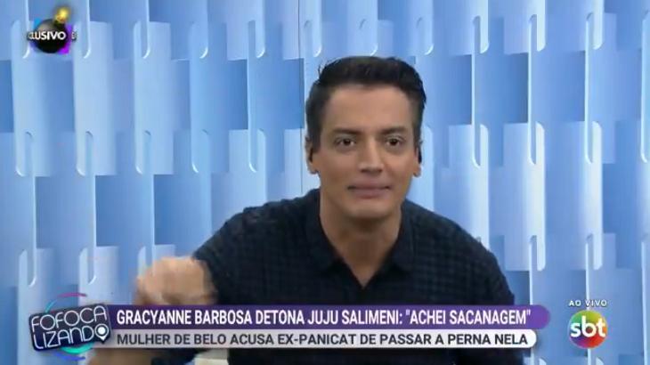 Leo Dias voltou ao