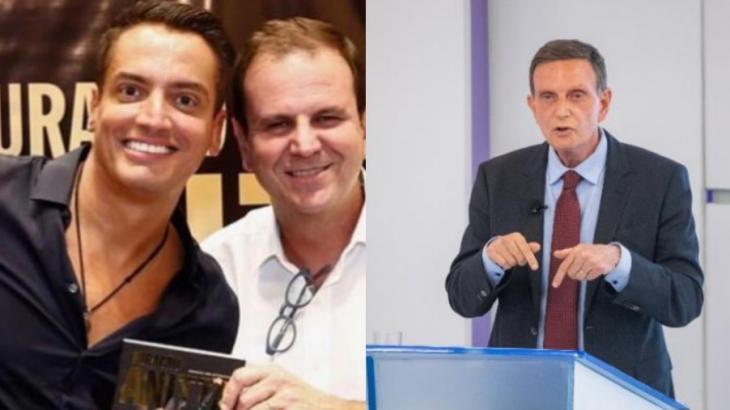 Leo Dias apoiou Eduardo Paes e criticou Marcelo Crivella em publicação no Instagram