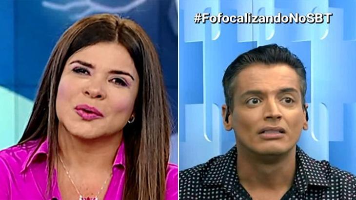 Leo Dias comentou sobre Mara Maravilha no