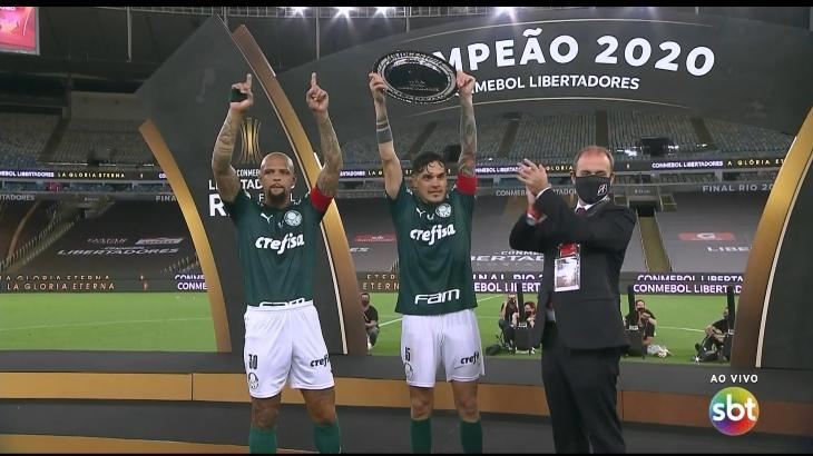 SBT destrona Globo e alcança melhor Ibope em 19 anos com final da Libertadores