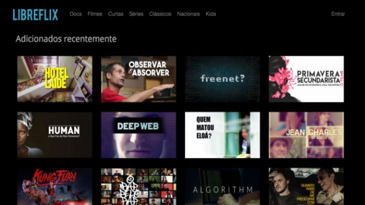 Conheça a Libreflix, plataforma gratuita com produções independentes