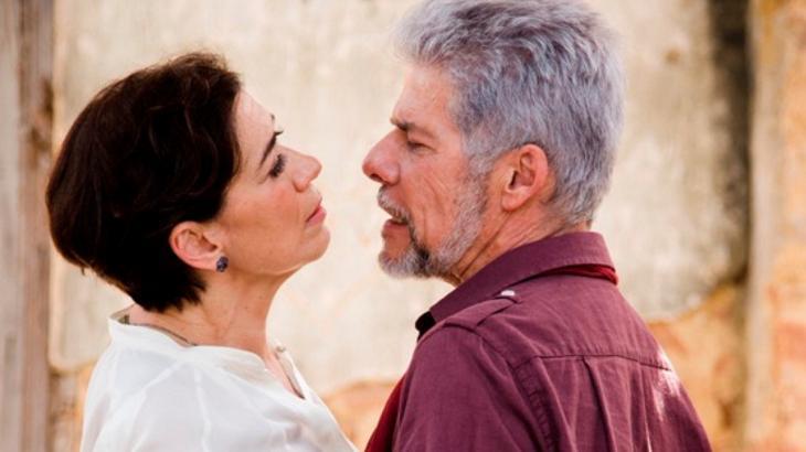 Lilia Cabral e José Mayer já fizeram par romântico - Foto: Divulgação/Globo