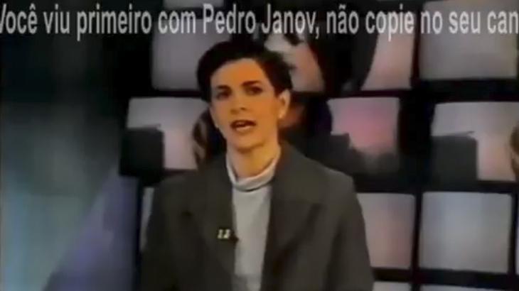 Vídeo do Jornal da Globo publicado por canal excluído do YouTube pela Globo (Foto: Reprodução)