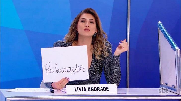 Lívia Andrade não se calou sobre Leo Dias - Foto: Reprodução/SBT