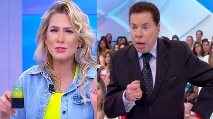 Lívia Andrade ironiza mudanças de Silvio Santos em programa: