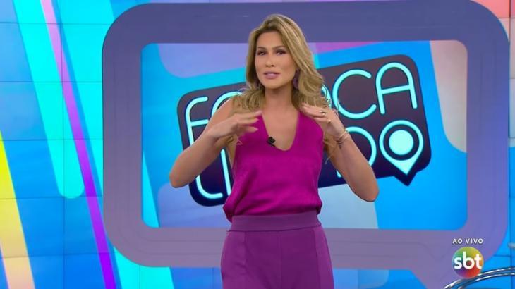 Lívia Andrade saiu de férias do programa Fofocalizando e anunciou substituta