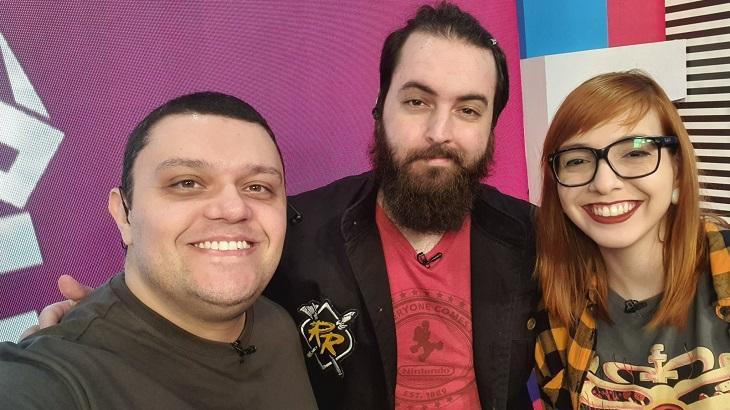 Diego, Ravena Dutra e Gustavo na Loading