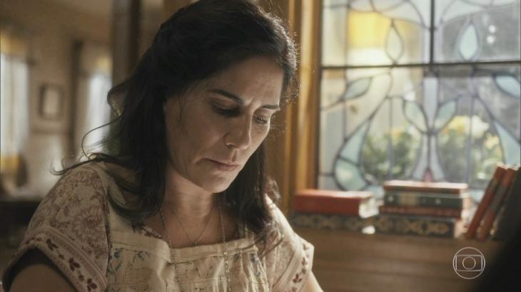 Lola será obrigada a tomar uma decisão difícil em Éramos Seis - Reprodução/TV Globo